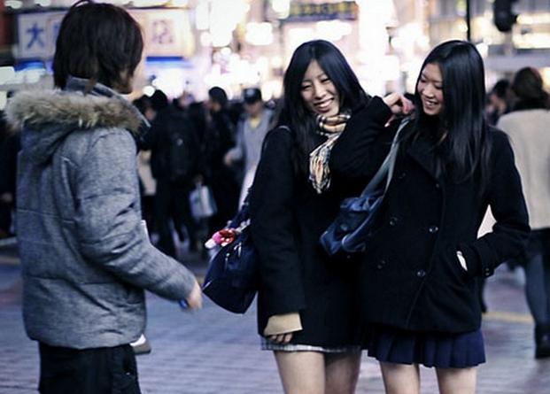flirt in Japanese way